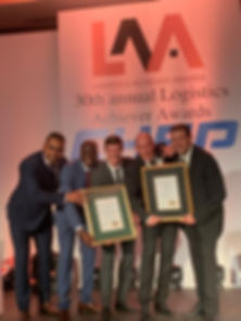 Logistic Acheiver Awards Sunstone Logist
