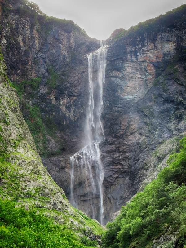 Водопад Стеклянная Лента