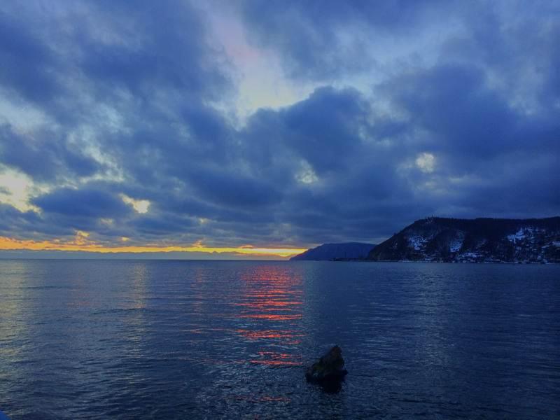Путешествие Байкал. Закаты