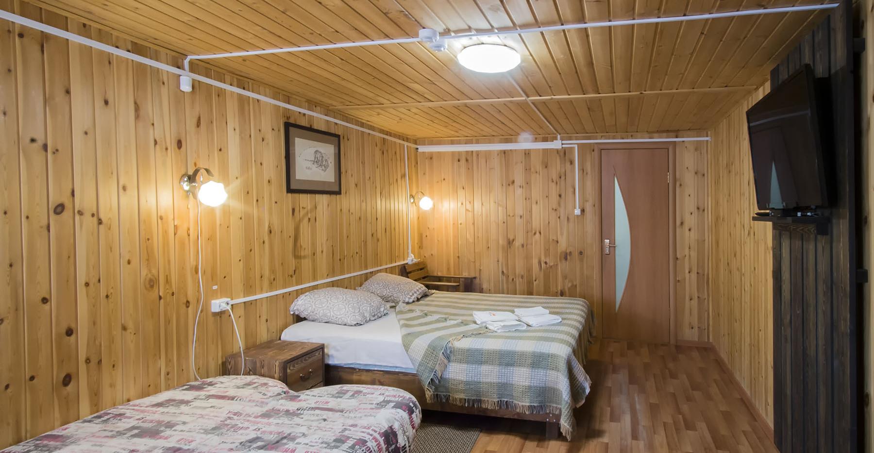Вид на спальню