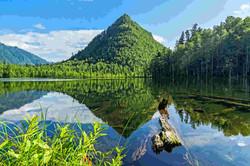 Путешествие Байкал. Теплые озера