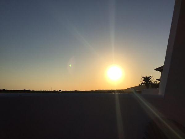 Sonnenuntergang auf Menorca