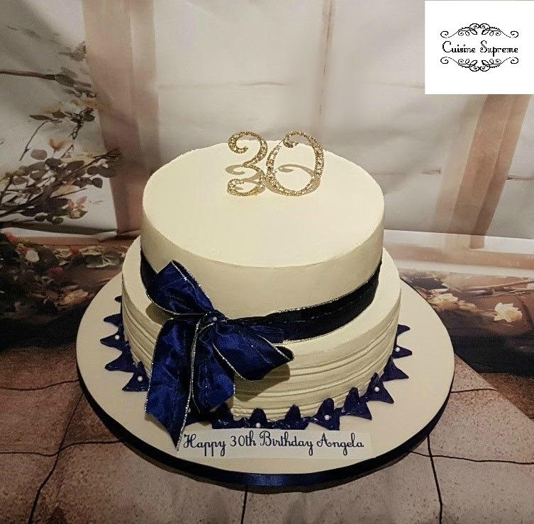 Red Velvet 30th Birthday Cake