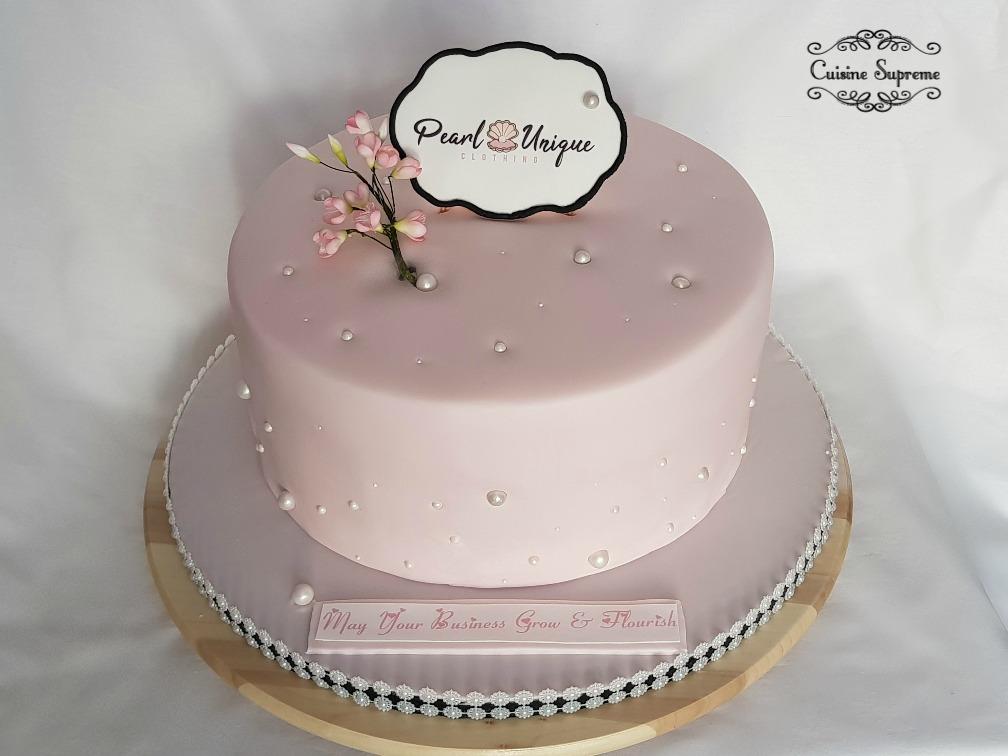 Celebration cake - delicate design
