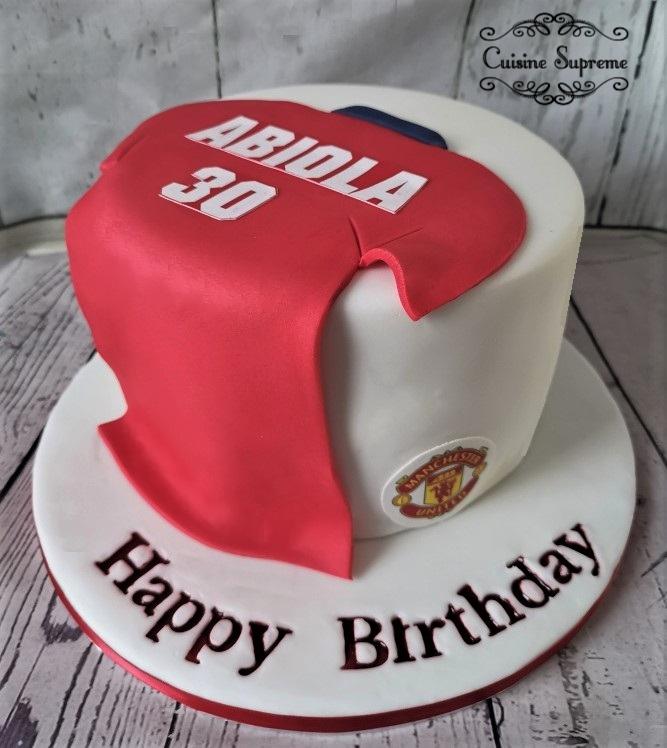 Sponge 30th Birthday Cake