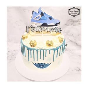 Vanilla Sponge Themed Birthday Cake