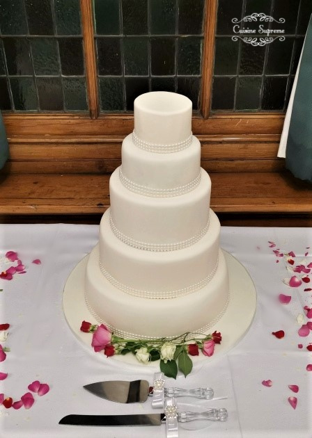 Rum, Red Velvet and Carrot wedding cake