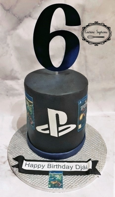 Playstation Chocolate Cake