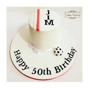 50th birthday Rum cake