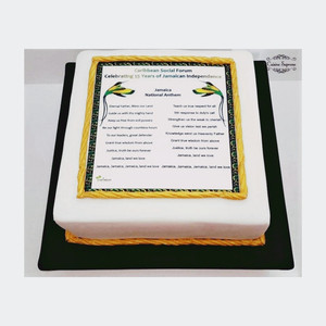 Rum fruit cake for Jamaican Independence Day