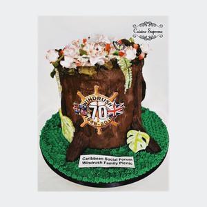 Rum fruit cake for 70 years of Windrush