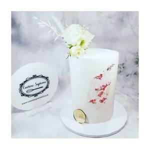 Double Barrel Vanilla Sponge Cake