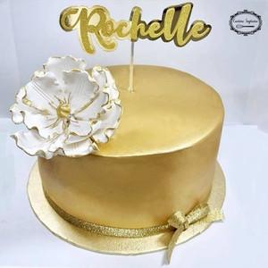 8inch gold rum fruit cake