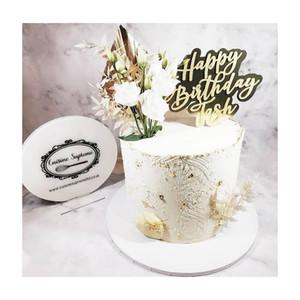 8inch Double Barrel Vanilla Sponge Cake