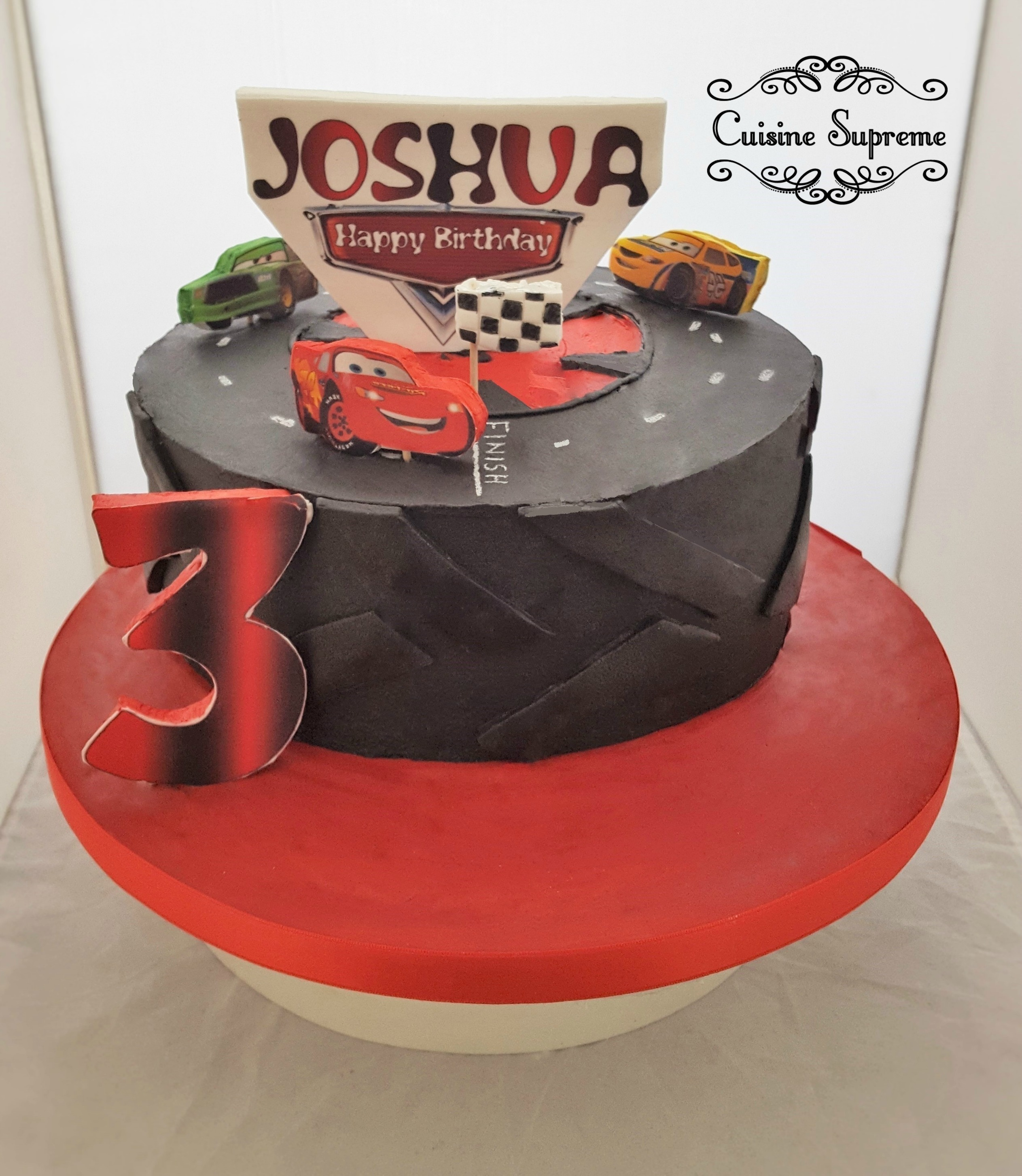 Children's Car Sponge Cake
