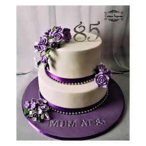 Milestone Birthday Rum Fruit Cake