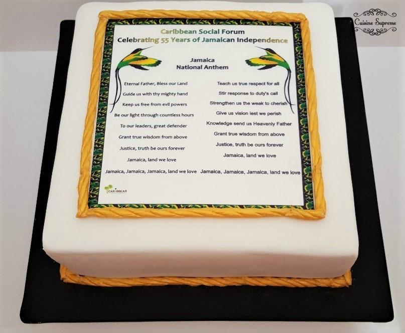 Jamaican Independence Cake
