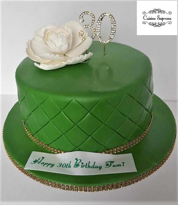 30th Birthday Sponge Cake