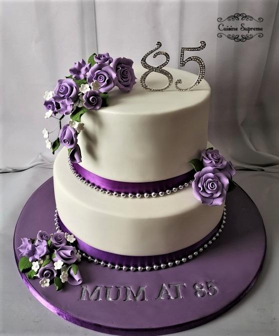 85th Rum and Sponge Birthday Cake
