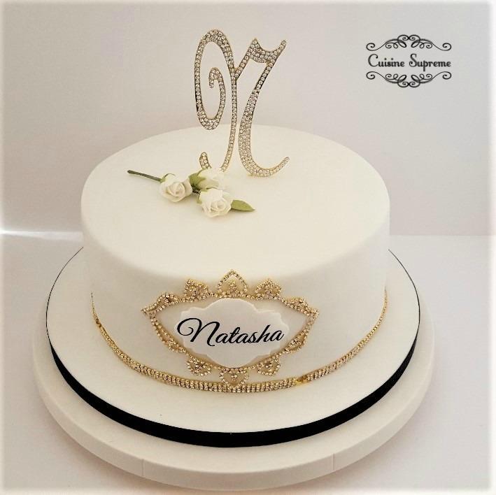Simple Sponge Birthday Cake