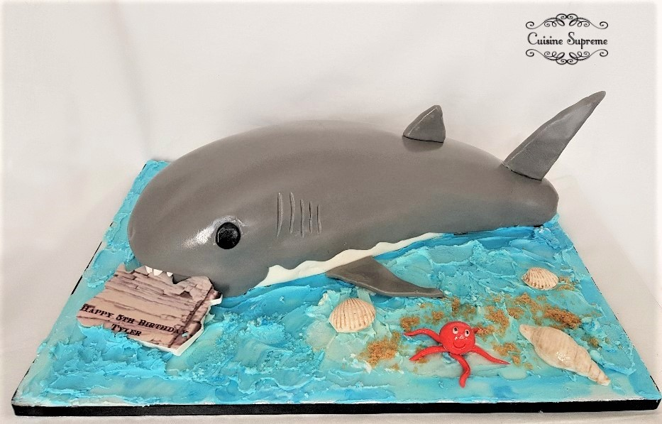 Children's Shark Cake