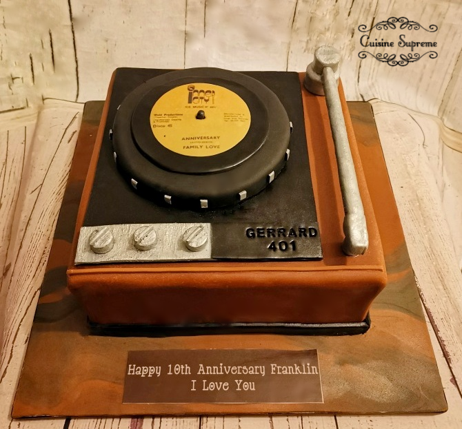 Gerrard Sponge Record Player