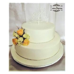 Anniversary rum fruit cake