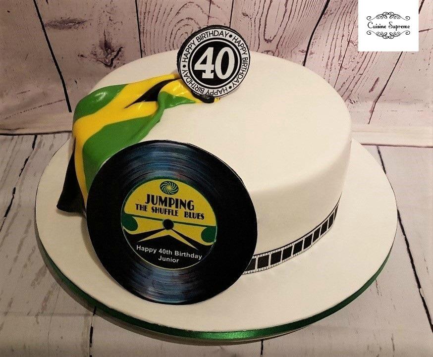 Birthday Caribbean Sponge Cake