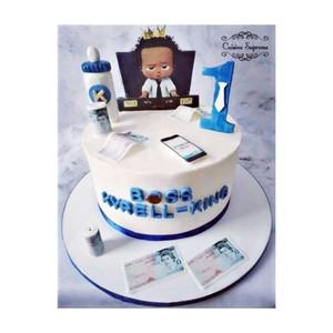 Chocolate Baby Boss Cake