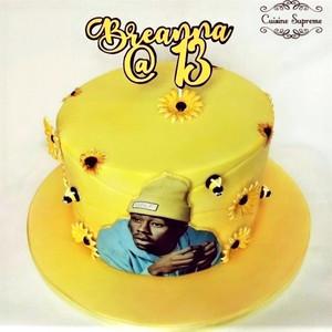 Tyler the Creator Sponge Cake