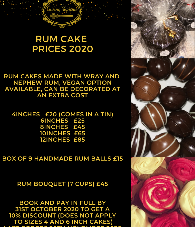Rum Fruit Cake Offer
