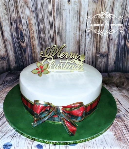 Christmas Rum Fruit Cake