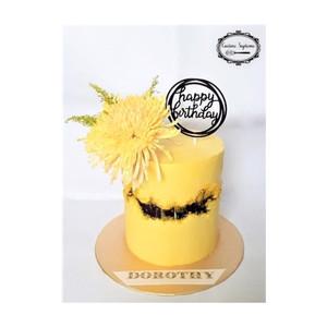 Double Barrell Lemon Drizzle Cake
