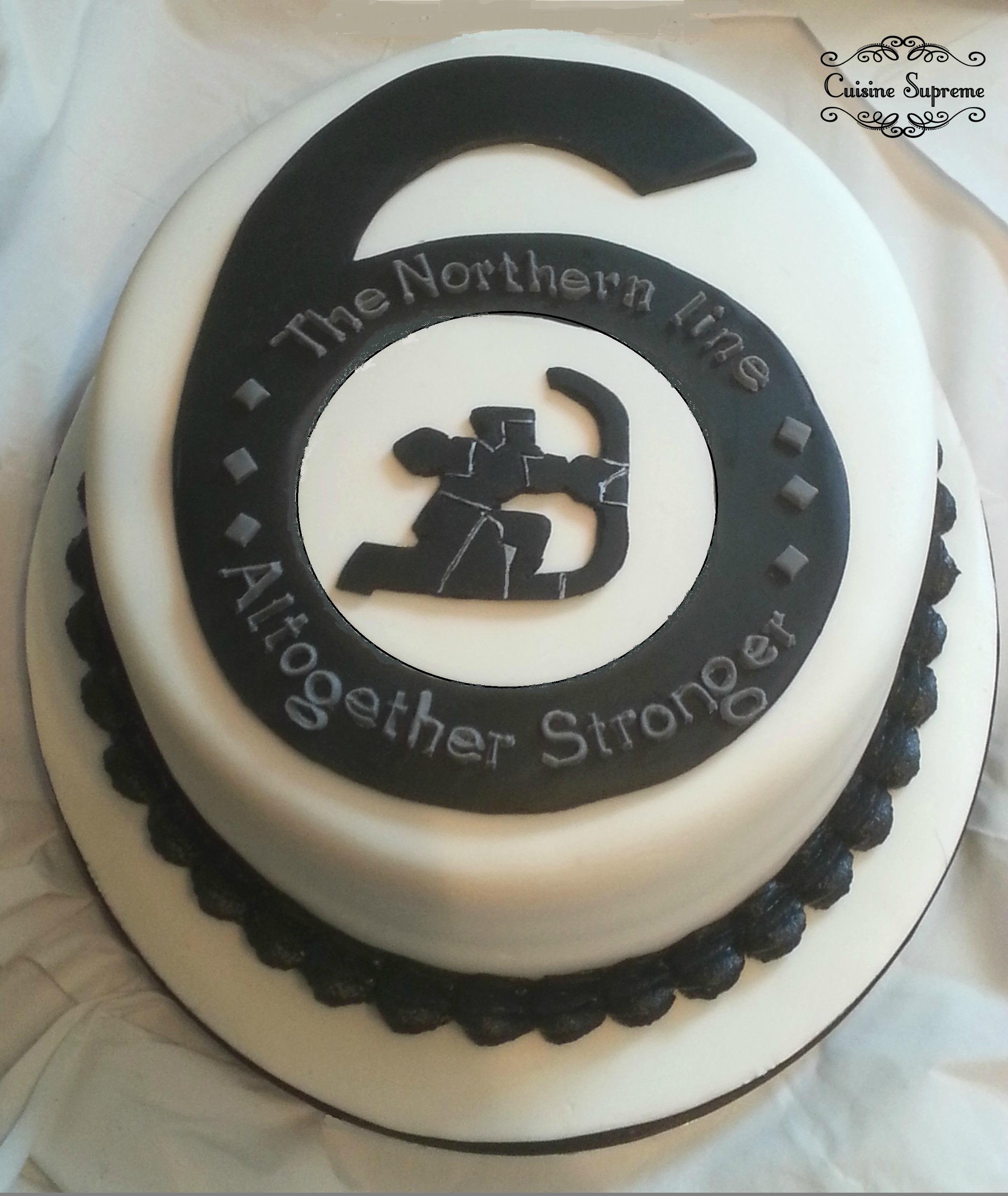 London Underground Cake