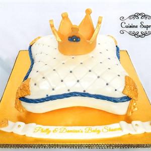 Sponge Baby Shower Cake