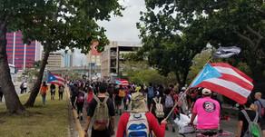 Manifestacion Pacifica, o Represion del Pueblo? / Peaceful Protest or Repression of the People?