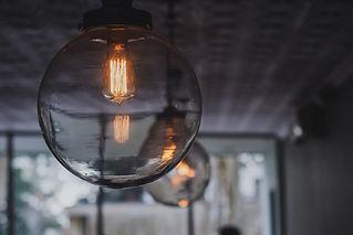 クリア円形ランプ
