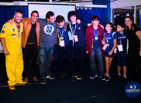Medalha de ouro! Equipes do Objetivo conquistam etapa da Olimpíada Brasileira de Robótica