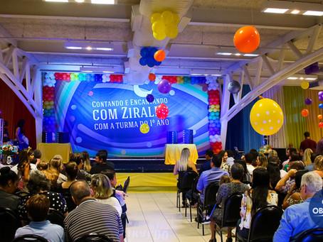 Festa do Livro 2018 | Contando e cantando Ziraldo com a turma do 1º ano