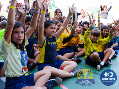 Equipe de Educação Física promoveu a Copa Objetivo 2018