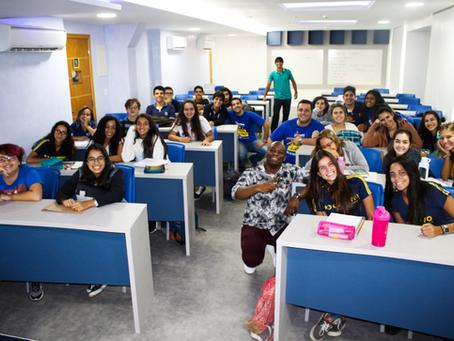 Nova sala de aula | 3ª série