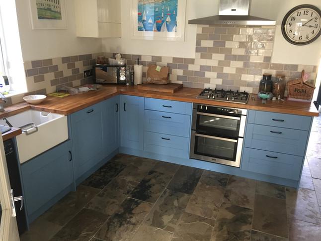 Kitchen refurbishment in Bath, Somerset.