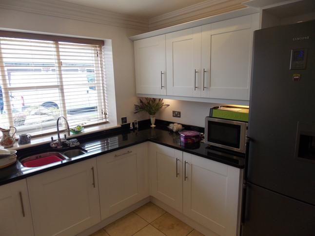 Kitchen respray in Poynton, Cheshire