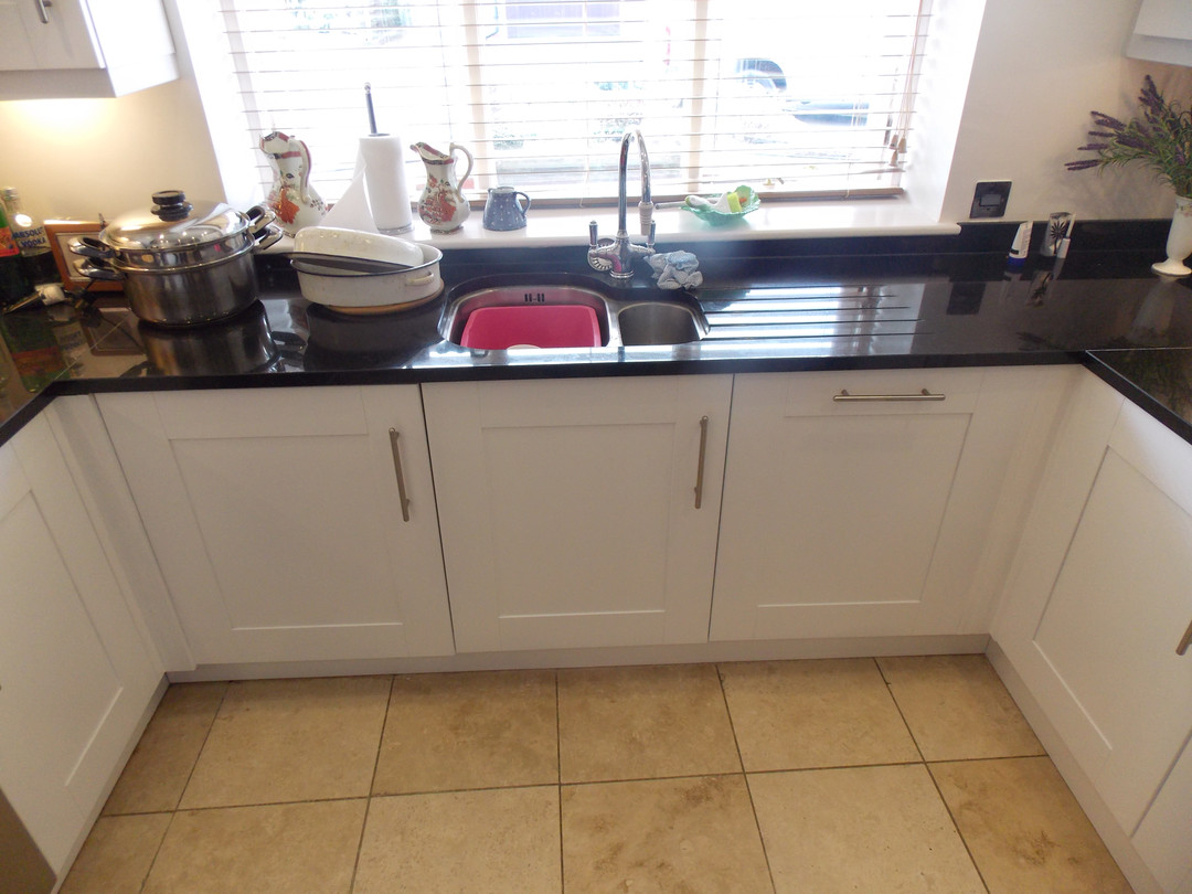 Kitchen refurbishment / kitchen Respray / Poynton, Cheshire
