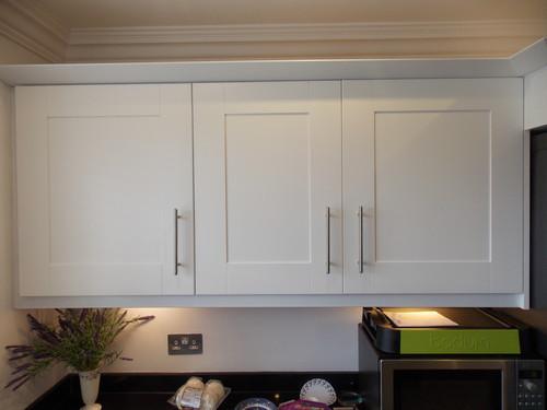 kitchen respray / cheshire / satin white