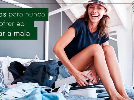 10 dicas para nunca mais sofrer ao arrumar a mala