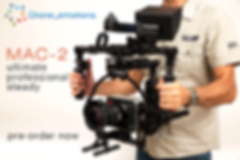 professional steadycam and gimbal for drones