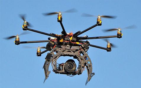 Droni per filmati aerei
