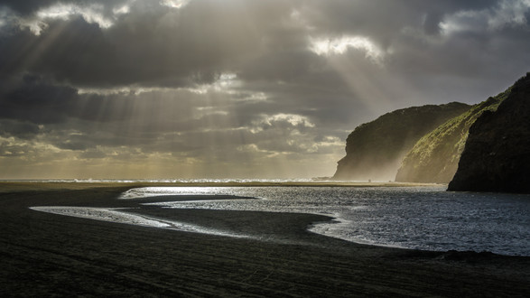 Ian Rushton   Bethell's Beach