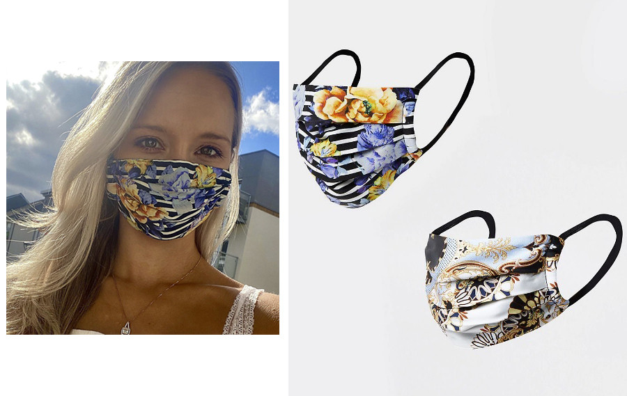 river island floral face mask tropical face masks